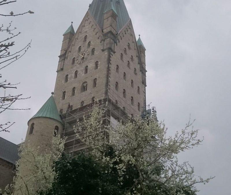 Paderborn – Turmuhr im Hohen Dom